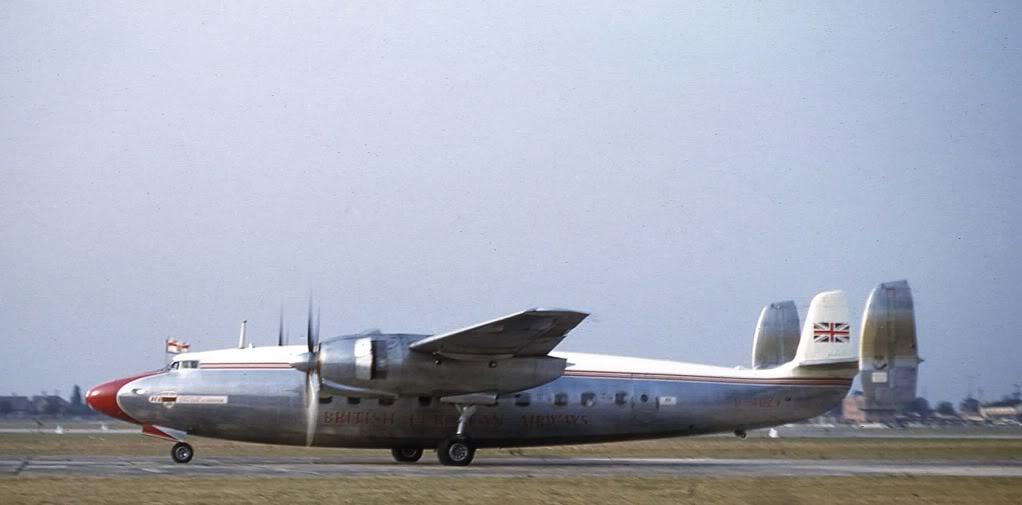 Pesawat Elizabethan dari Airspeed Ambassador. Foto: John Read/photobucket.com