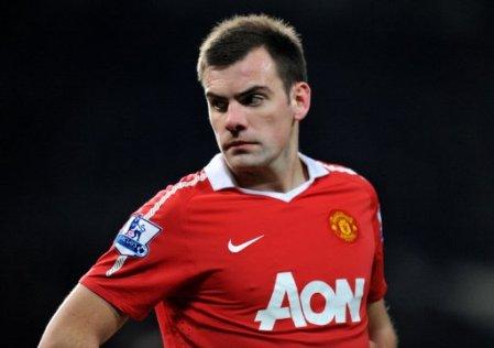 Darron Gibson, Manchester United