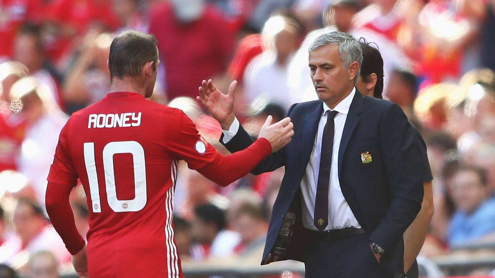 Antara Mourinho Rooney Dan Manchester United Berita