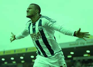 Salomon Rondon West Bromwich Albion