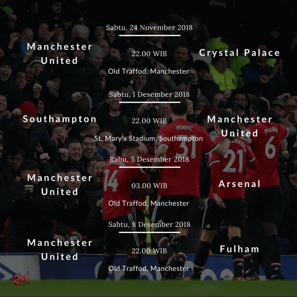Jadwal Manchester United Di Premier League Musim 2018 2019