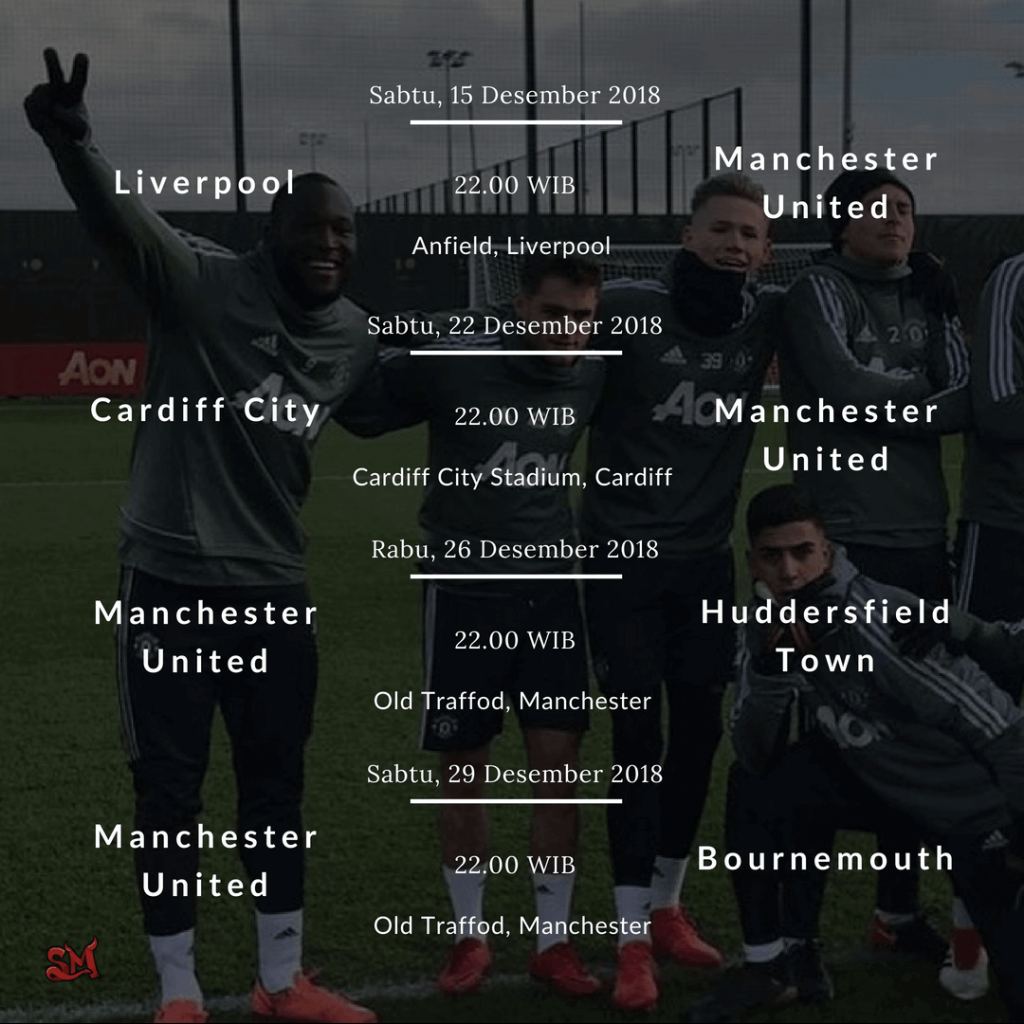 Epl Matches Live On Rcti Indonesia Tv Channel: Jadwal Manchester United 2019
