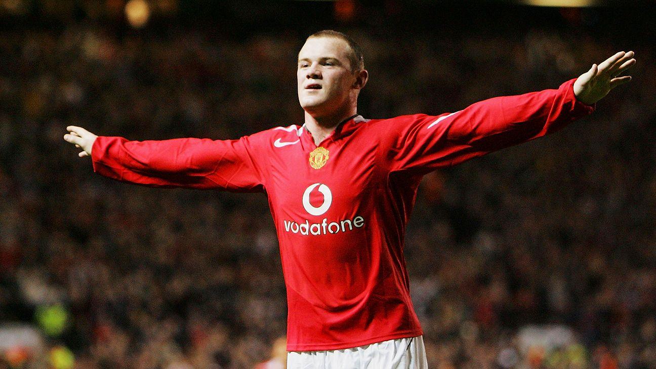 28 September 2004 Debut Apik Rooney Dengan Kaus Sempit