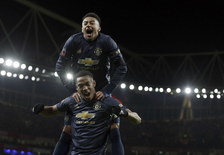 Di Balik Perayaan Gol Jesse Lingard Berita Manchester United