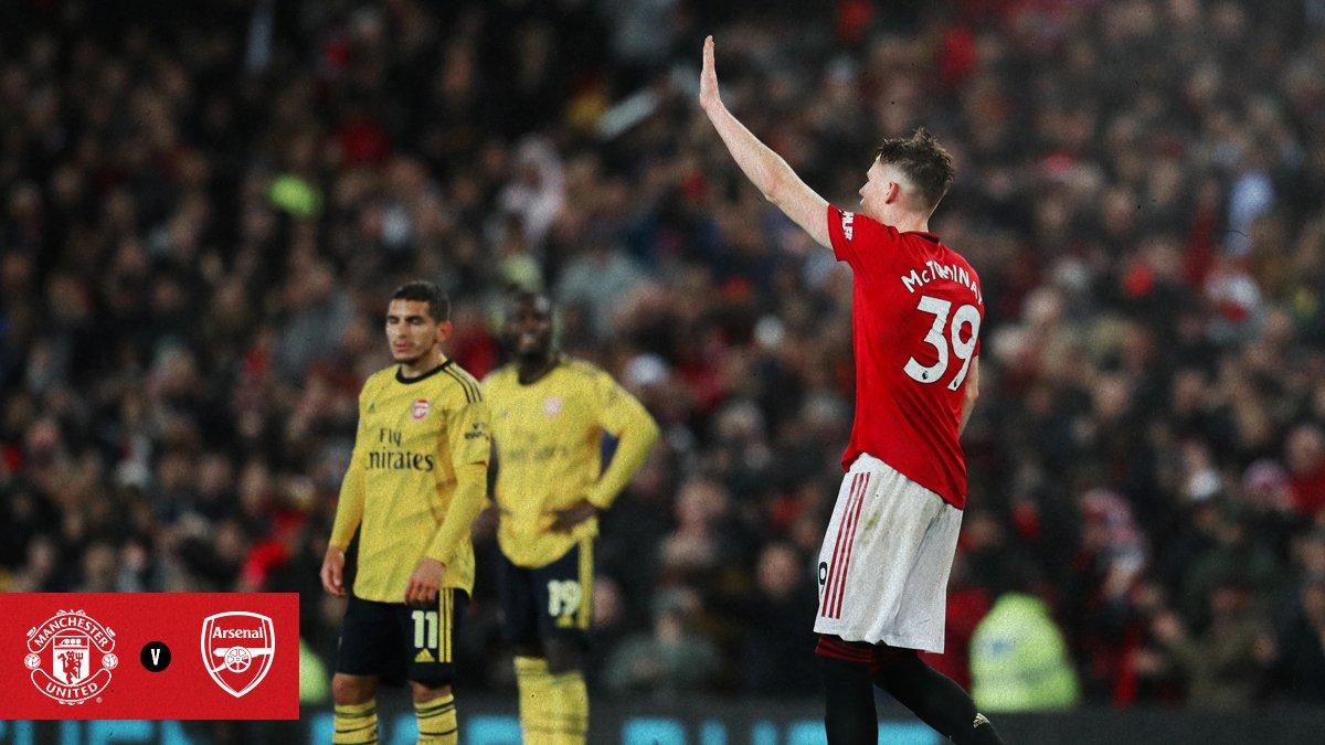 Laga Manchester United Vs Arsenal Yang Membosankan Berita