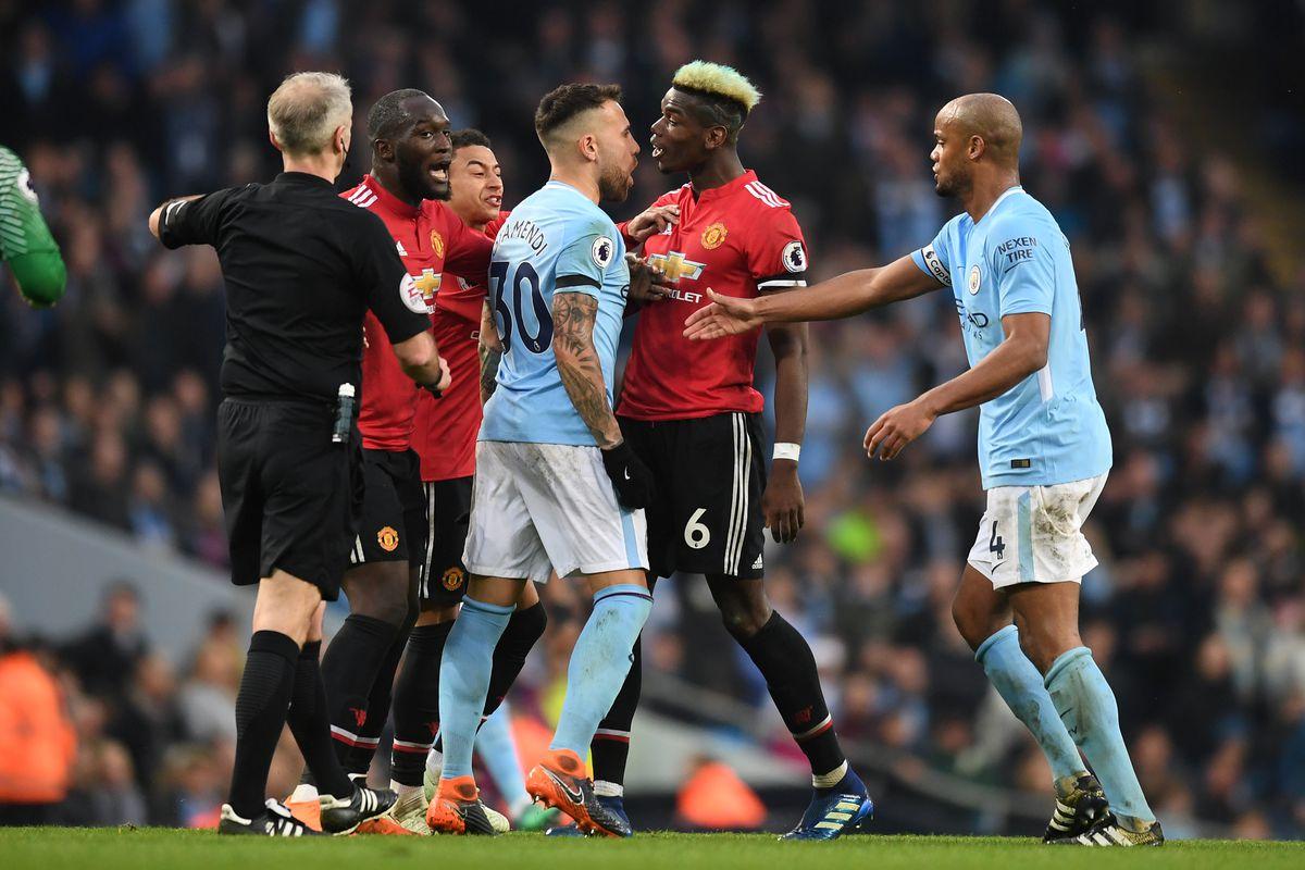 Man City Vs Man United Laga Uji Konsistensi Berita