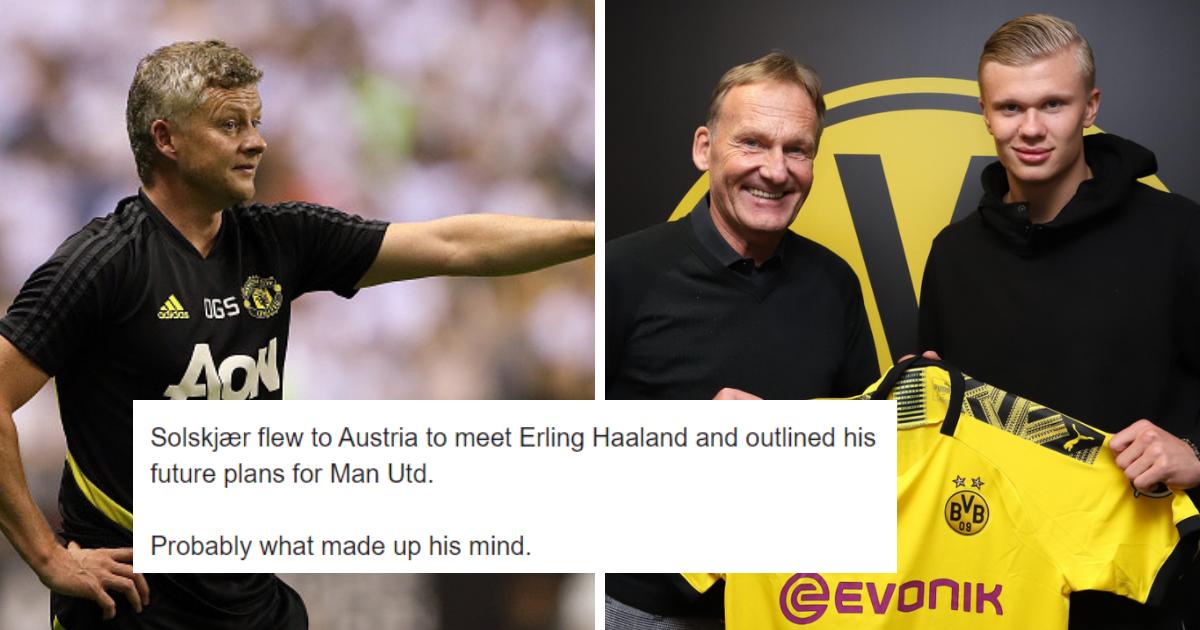Menjadi Bahan Tertawaan Karena Erling Haaland Berita Manchester United