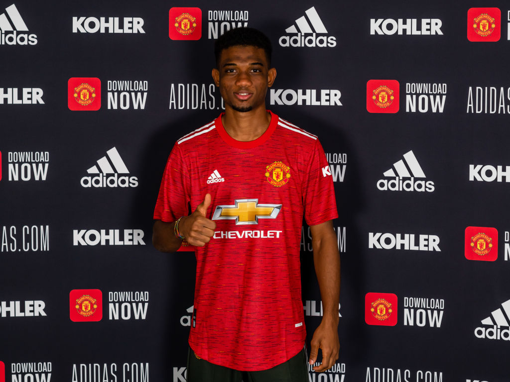 Image result for Amad Diallo